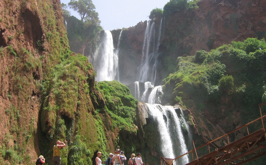 Day In Ouzoud Waterfalls